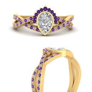 bezel-pear-purple-topaz-half-halo-engagement-ring-in-FD9734PERGVITOANGLE3-NL-YG