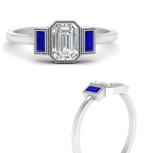 bezel-set-baguette-three-stone-sapphire-engagement-ring-in-FD9745EMRGSABLANGLE3-NL-WG