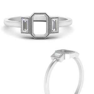 semi-mount-bezel-set-baguette-three-stone-diamond-engagement-ring-in-FD9745SMRANGLE3-NL-WG