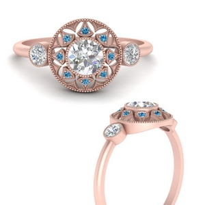round-halo-diamond-milgrain-engagement-ring-with-blue-topaz-in-FD9747RORGICBLTOANGLE3-NL-RG