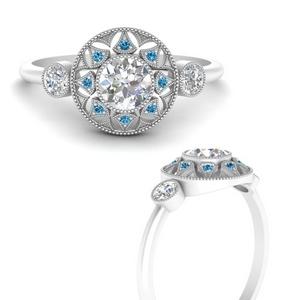 round-halo-diamond-milgrain-engagement-ring-with-blue-topaz-in-FD9747RORGICBLTOANGLE3-NL-WG