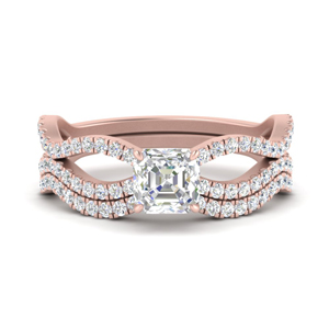 asscher-cut-vintage-twisted-diamond-bridal-ring-set-in-FD9749AS-NL-RG