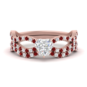 heart-shaped-vintage-twisted-diamond-bridal-ring-set-with-ruby-in-FD9749HTGRUDR-NL-RG