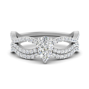 pear-shaped-vintage-twisted-diamond-bridal-ring-set-in-FD9749PE-NL-WG