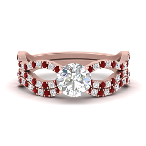 round-cut-vintage-twisted-diamond-bridal-ring-set-with-ruby-in-FD9749ROGRUDR-NL-RG