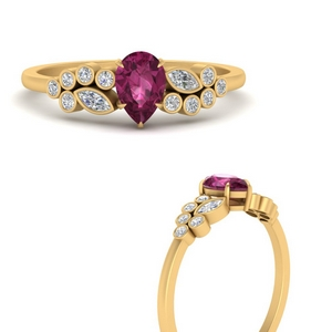 unique-pear-cluster-bezel-pink-sapphire-engagement-ring-in-FD9777PERGSADRPIANGLE3-NL-YG