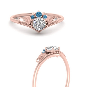 Beautiful Round Floral Ring