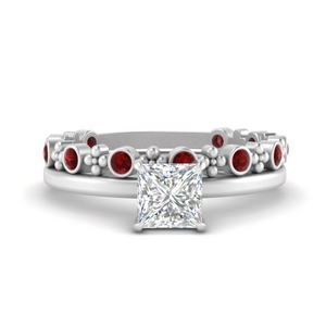 princess-solitaire-engagement-ring-with-ruby-stacking-band-in-FD9805PRGRUDRANGLE2-NL-WG