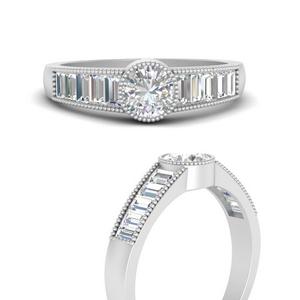 Modern Art Deco Diamond Ring