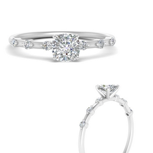 Delicate Diamond Rings