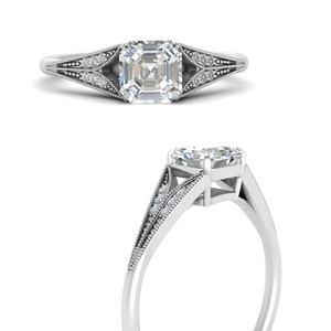 asscher-cut-diamond-split-shank-antique-engagement-ring-in-FD9813ASRANGLE3-NL-WG