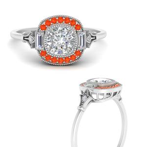 art-deco-halo-cushion-orange-topaz-engagement-ring-in-FD9815RORGPOTOANGLE3-NL-WG