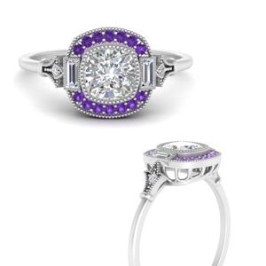 art-deco-halo-cushion-purple-topaz-engagement-ring-in-FD9815RORGVITOANGLE3-NL-WG