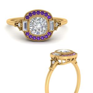 art-deco-halo-cushion-purple-topaz-engagement-ring-in-FD9815RORGVITOANGLE3-NL-YG