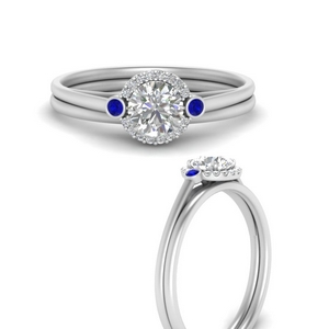 round-delicate-halo-diamond-wedding-set-with-sapphire-in-FD9820ROGSABLANGLE3-NL-WG