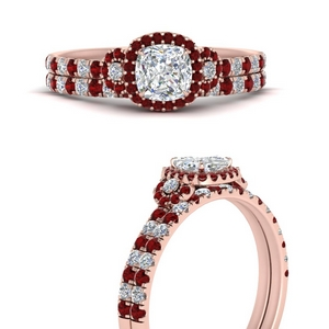 delicate-cushion-cut-halo-engagement-ring-with-ruby-matching-band-in-FD9821CUGRUDRANGLE3-NL-RG
