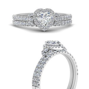Wedding Band For Halo Ring