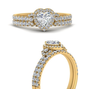 delicate-heart-shaped-halo-engagement-ring-with-diamond-matching-band-in-FD9821HTANGLE3-NL-YG