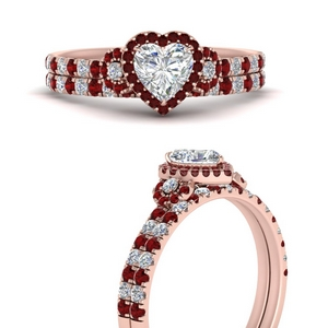 delicate-heart-shaped-halo-engagement-ring-with-ruby-matching-band-in-FD9821HTGRUDRANGLE3-NL-RG