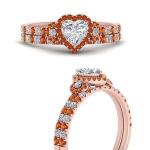 delicate-heart-shaped-halo-engagement-ring-with-orange-sapphire-matching-band-in-FD9821HTGSAORANGLE3-NL-RG