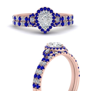 delicate-pear-shaped-halo-engagement-ring-with-sapphire-matching-band-in-FD9821PEGSABLANGLE3-NL-RG