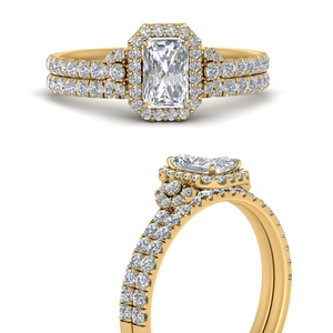delicate-radiant-cut-halo-engagement-ring-with-diamond-matching-band-in-FD9821RAANGLE3-NL-YG