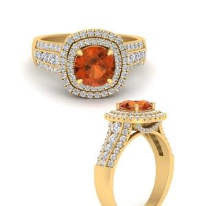 double-halo-big-orange-sapphire-engagement-ring-in-FD9824RORGOSANGLE3-NL-YG