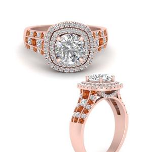 big-round-diamond-engagement-ring-with-orange-sapphire-in-FD9824RORGSAORANGLE3-NL-RG