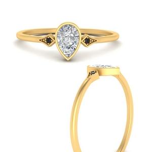 pear-shape-bezel-three-stone-black-diamond-engagement-ring-in-FD9826PERGBLACKANGLE3-NL-YG