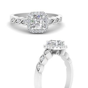 Halo Infinity Diamond Ring