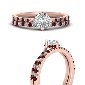 compass-point-under-halo-diamond-bridal-ring-set-with-ruby-in-FD9833ROGRUDRANGLE3-NL-RG