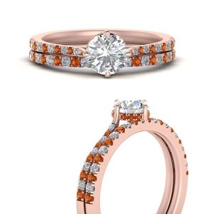 compass-point-under-halo-diamond-bridal-ring-set-with-orange-sapphire-in-FD9833ROGSAORANGLE3-NL-RG
