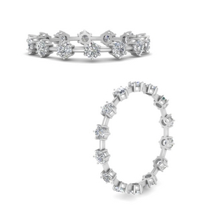 Affordable Diamond Scattered Eternity Band