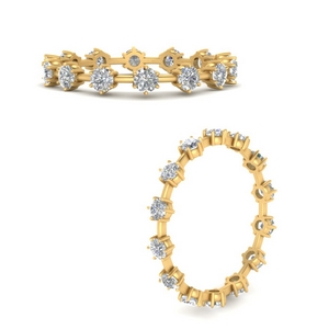 Affordable Scattered Eternity Band