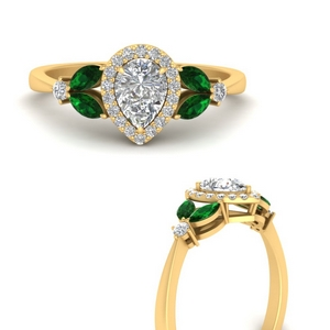 marquise-and-pear-emerald-halo-cathedral-engagement-ring-in-FD9841PERGEMGRANGLE3-NL-YG
