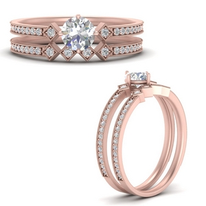 east-west-pave-round-diamond-wedding-ring-set-in-FD9843ROANGLE3-NL-RG
