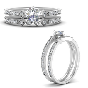 east-west-pave-round-diamond-wedding-ring-set-in-FD9843ROANGLE3-NL-WG