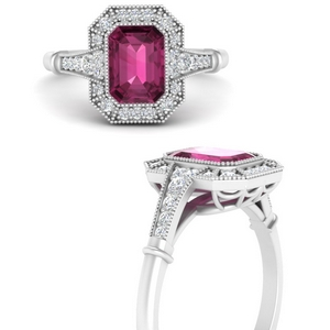 pink-sapphire-emerald-cut-vintage-engagement-ring-in-FD9847EMRGPSANGLE3-NL-WG