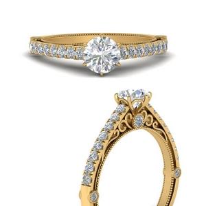 6 Prong Simple Diamond Ring