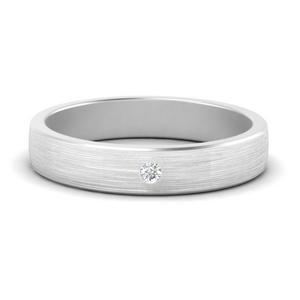 Single Stone Simple Men Ring