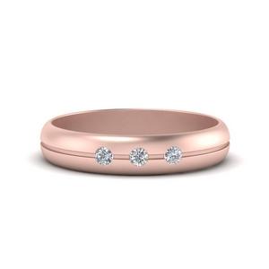 Mens Diamond Band Ring