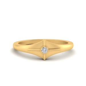 bezel-round-beautiful-diamond-ring-in-FD9893B-NL-YG