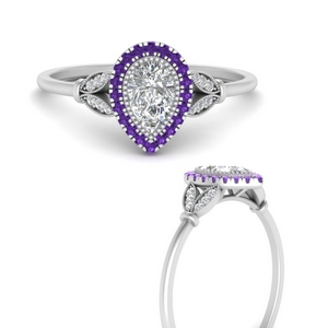 halo-pear-nature-inspired-engagement-ring-with-purple-topaz-in-FD9870PERGVITOANGEL3-NL-WG