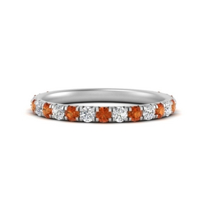 0.50-ct.-simple-pave-wedding-band-with-orange-sapphire-in-FD9877BGSAOR-NL-WG
