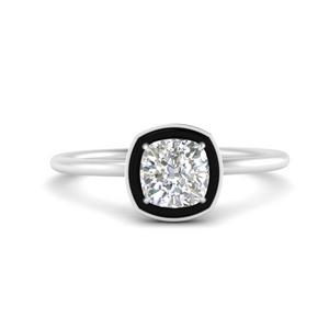 cushion-cut-solitaire-enamel-diamond-ring-in-FD9880CUR-NL-WG
