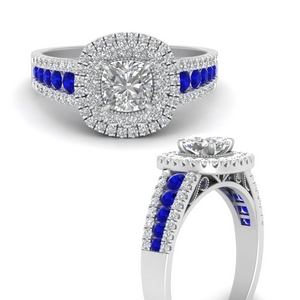 cushion-3-row-double-halo-sapphire-engagement-ring-in-FD9900CURGSABLANGEL3-NL-WG