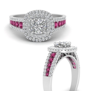 cushion-3-row-double-halo-pink-sapphire-engagement-ring-in-FD9900CURGSADRPIANGEL3-NL-WG