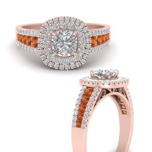 cushion-3-row-double-halo-orange-sapphire-engagement-ring-in-FD9900CURGSAORANGEL3-NL-RG