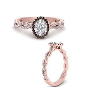 Lab Diamond Halo Infinity Ring