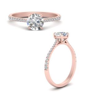 Lab Diamond Delicate Ring